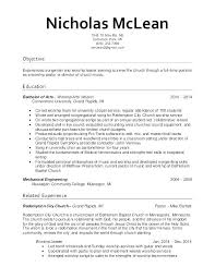 Pastoral Resume Cool Resume For Pastor Position Music Ministry Resume Sample Minister