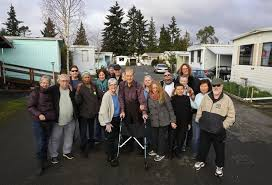 residents at halcyon mobile home park are fighting to protect their munity from redevelopment at