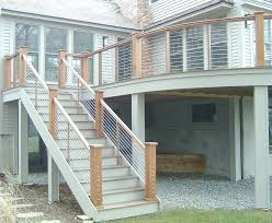 Staircase Railing Ideas lovely outdoor stair railing ideas outdoor stair rail outdoor 1262 by xevi.us