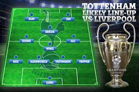 Tottenham team news and likely line-up vs Liverpool with ...