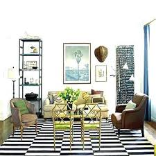 black striped rug black and white striped rug green living room ideas view full size brown black striped rug
