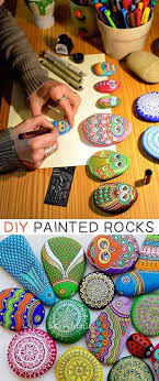 creative and easy diy painted rock ideas simple and creative