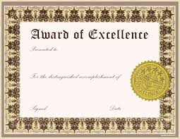 Award Certificates Pdf certificate of award template Ninjaturtletechrepairsco 1