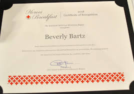"Bev Bartz is an American Red Cross 'Give Life Hero""   Sleepy Eye ..."