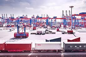 port company color chart port of hamburg receives new container gantry cranes port