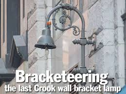 the title card shows what is likely the last bi crook wall bracket lamp in new york city a genre that i don t think was all that frequently found even