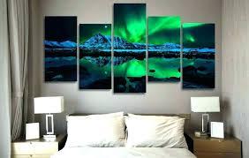 canvas wall art sets canvas wall art sets canvas wall art northern lights aurora 5 piece