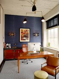 home office renovation. Downtown Seattle Office Renovation | Mid Century Chairs + Grass Cloth Wallpaper Home