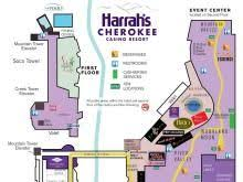 Seating Chart For Harrah S Cherokee Event Center Cherokee Casino Concert Seating Chart Weezer Casino