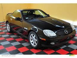 1998 Black Mercedes-Benz SLK 230 Kompressor Roadster #13529017 ...