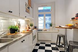 Kitchen Design For Small Apartment Style