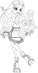 Small Picture Coloring Pages Free Printable Monster High Coloring Pages Boo