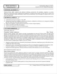 Architecture Resume Examples Architecture Cv Template For Architects Resume Sample For Study 53