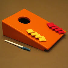 picture of a desktop bag toss build it with few tools