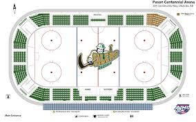 Oilers Arena Seating Chart Olds Grizzlys At Okotoks Oilers