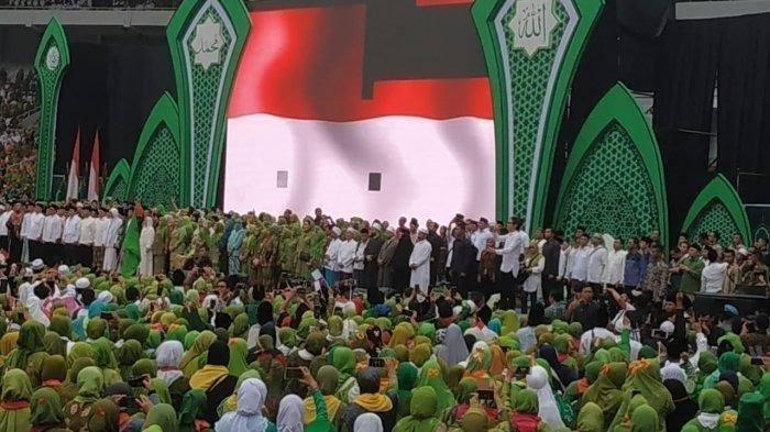 Harlah #Muslimat NU ke-73 Bersih dari Atribut Partai Politik
