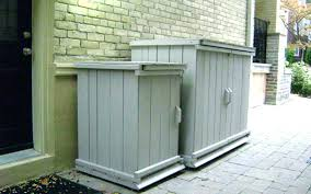 outdoor garbage storage garbage can storage ideas outside trash can storage trash can garbage storage bin