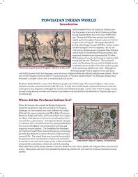 best jamestown other early settlements images here s an essay on the life of the powhatan ns before and after the arrival of