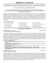 Supply Chain Cover Letter Supply Chain Manager Resumes Example Of Cover Letter Resume