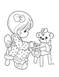 Small Picture Precious Moments Coloring Book Pages 16443 Bestofcoloringcom