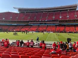 Arrowhead Stadium Section 136 Home Of Kansas City Chiefs
