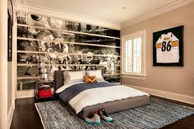 boys bedroom decorating ideas sports. Beautiful Sports Teen Boys Bedroom Decorating Ideas Awesome  Sports Unique Design Inside R