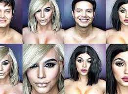 you news video male makeup artists transforms himself into kim k kylie ariana