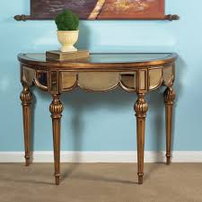 hall table furniture. Antique Demilune Console Table For Attractive Home Interior Decor Hall Furniture