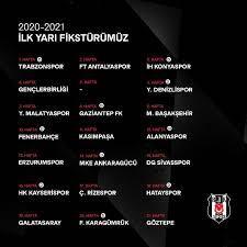 Beşiktaş - Süper Lig'de 2020-21 Sezonu Fikstürü Belli Oldu Süper Lig'de  2020-21 sezonu için fikstür çekimi, TFF Riva Hasan Doğan Milli Takımlar  Kamp ve Eğitim Tesisleri'nde gerçekleştirildi. Kura çekimine Kulübümüzü  temsilen, TFF,
