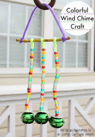 Colorful Wind Chime Craft
