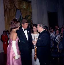 jfk years in office. President John F. Kennedy And First Lady Jacqueline With Violinist Isaac Stern Jfk Years In Office