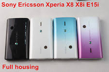 sony ericsson xperia x8. original full housing fascia back cover case for sony ericsson xperia x8 e15i