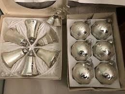 Alter Christbaumschmuck Weihnachten Glocken Kugeln Zapfen