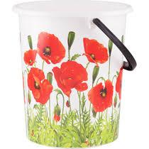 <b>Ведро Полимербыт круглое</b> Цветы 11 л купить с доставкой по ...