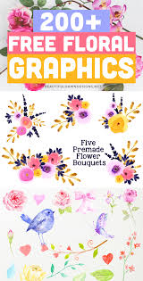 Are you searching for watercolor flower png images or vector? 200 Free Floral Graphics Beautiful Dawn Designs