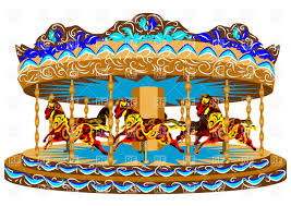 carousel with horses vector image vector ilration of objects arkela 38173 to zoom