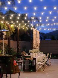 patio lights string ideas