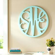 wooden wall monograms for nursery wooden cut out script monogram