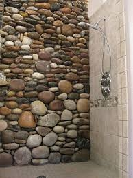 Small Picture Best 25 River rock bathroom ideas on Pinterest Master bathroom