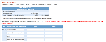 discount on bonds payable balance sheet solved the balance sheet for carla vista co reports the