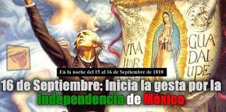 Resultado de imagen para 16 de septiembre mexico