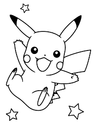 Pikachu Pokemon Coloring Pages Is Creative