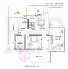 elevation and floor plan of contemporary home indian house plans