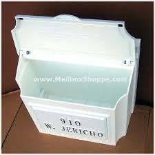 vertical wall mount mailbox. Mailbox Wall Mount A White With Locking Lid Removed  Brass . Vertical