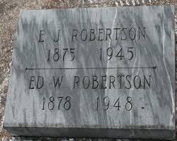 Edward White Robertson (1878-1948) - Find A Grave Memorial