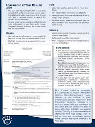 Resume Example Pennsylvania State University Pages 1 6 Text