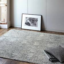 grey and white geometric rug this stylish rug from the collection features a stylish black and
