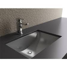 undermount rectangular bathroom sink. Cantrio Koncepts - Bathroom Undermount Sink Rectangular T
