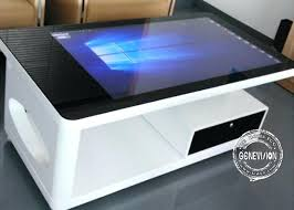 all in one waterproof multi touch table interactive coffee full how to make an led full