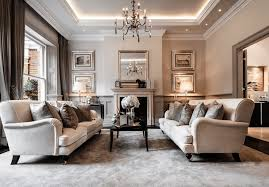 Elegant traditional living room